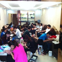 Photo taken at Lovely Nails Sanlitun by Owen S. on 4/28/2013