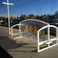 Photo taken at RTD - Yale Light Rail Station by Ron on 10/22/2012