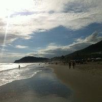 Photo taken at Praia de Juquehy by Rafael M. on 11/16/2012