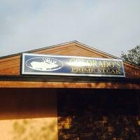 Photo taken at Colorado's Prime Steak by Johnnie W. on 2/22/2014