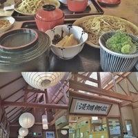 Photo taken at そば処 まつばら by はたなか あ. on 6/14/2015