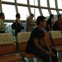 Photo taken at Thai Airways Flight TG 704 by Aunchisa C. on 3/25/2013