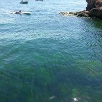 8/5/2014 tarihinde Nese Χ.ziyaretçi tarafından Kalpazankaya Plajı'de çekilen fotoğraf