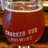 Photo taken at Crooked Run Brewing by Joseph G. on 10/8/2017