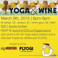 Photo taken at Veritas Wine and Craft Beer by FLYOGI on 3/2/2015
