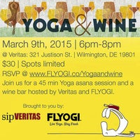 Photo taken at Veritas Wine and Craft Beer by FLYOGI on 2/23/2015