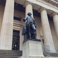 Photo taken at Federal Hall National Memorial by Ильшат И. on 12/5/2012