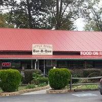 Photo taken at Little River BBQ by Louis B. on 10/9/2012