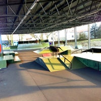 Photo taken at Skate park by Tony L. on 5/7/2013