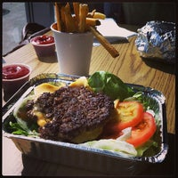 Photo taken at Five Guys by Adil D. on 5/14/2013