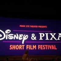 Photo taken at Disney & Pixar Short Film Festival (Magic Eye Theater) by Fernando D. on 5/21/2017