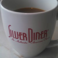Photo taken at Silver Diner by Dan I. on 11/24/2012