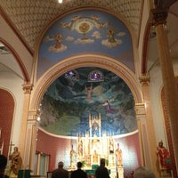 Photo taken at Shiner Catholic Church by Doc D. on 2/9/2013