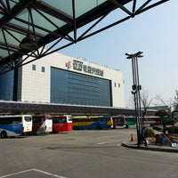 Photo taken at Incheon Bus Terminal by SG J. on 3/15/2013