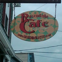 Photo taken at The Rosendale Cafe by The Rosendale Cafe on 9/16/2014