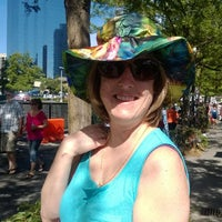 Photo taken at Bellevue Arts And Crafts Fair by dimple on 7/28/2014