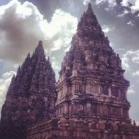 Photo taken at Prambanan Temple by iSrar B. on 11/1/2013