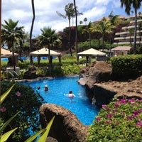Photo taken at Sheraton Maui Resort & Spa by Terry G. on 4/24/2013