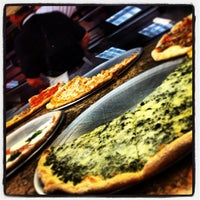 Photo taken at Abitino's Pizzeria by Marcus M. on 3/1/2013