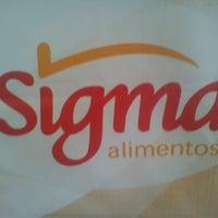 Photo taken at Sigma Alimentos CEDI Centeno by Jonathan R. on 4/8/2013
