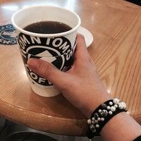 Photo taken at TOM N TOMS COFFEE by Bodeulsaem K. on 3/28/2015