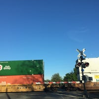Photo taken at RR Train Crossing by Jeff M. on 4/18/2016