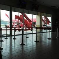 Photo taken at Terminal 2 by Emmyzahfarrenny A. on 6/20/2013