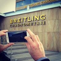 Photo taken at Breitling Chronometrie by Alon B. on 11/24/2014