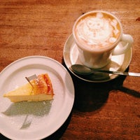 Photo taken at café uwaito by kimie n. on 1/15/2014