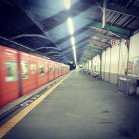 Photo taken at Ashiharabashi Station by Keita I. on 6/23/2013