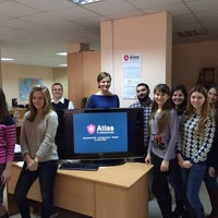 Photo taken at Atlas Professionals by Иринка on 12/12/2014