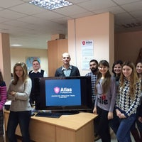 Photo taken at Atlas Professionals by Иринка on 12/11/2014