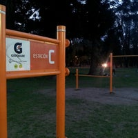 Photo taken at Gatorade Training Station 10 KM Circuito 3 de Febrero by Gatorade Argentina on 9/19/2014