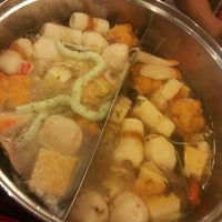 Photo taken at X.O Suki & Cuisine by Huiqing K. on 7/10/2014