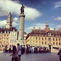 Photo taken at Grand'Place – Place du Général de Gaulle by Vishal J. on 7/24/2013