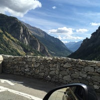 Das Foto wurde bei Traforo Monte Bianco [T1] - Piazzale Sud von Danila O. am 9/23/2016 aufgenommen