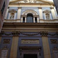 Photo taken at Restaurant du Gesù by Ludo H. on 8/1/2013