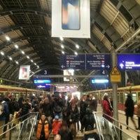 Photo taken at Bahnhof Berlin Alexanderplatz by Rollo W. on 11/18/2017