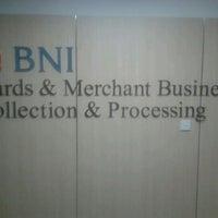 Photo taken at BNI Card & Merchant Business by Rengga P. on 12/30/2012