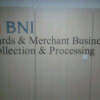 Photo taken at BNI Card & Merchant Business by Rengga P. on 12/23/2012