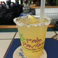 Photo taken at Palm Pavilion Beachside Grill & Bar by Brendan S. on 11/14/2012