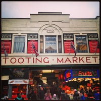 Photo taken at Tooting Market by Lauren K. on 2/2/2013