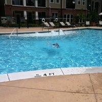 Photo taken at The Pool @ Parklake by Morries W. on 5/31/2012