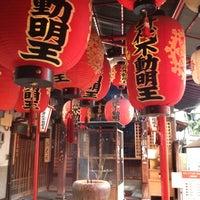 Photo taken at 身代不動明王 by ntkondo on 7/19/2012