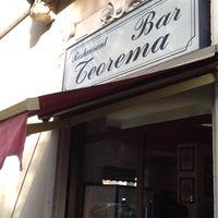 Photo taken at Bar Teorema by Damiano C. on 5/9/2012