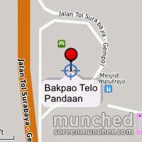 Photo taken at Bakpao Telo Pandaan by Eko T. on 7/12/2012