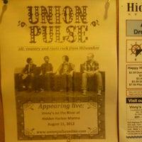 Photo taken at Tavern 829 at Hidden Harbor Marina by Sarah O. on 8/11/2012