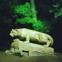 Photo taken at Nittany Lion Shrine by John K. on 8/24/2012