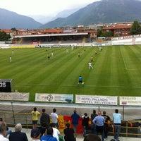 Photo taken at Stadio Velodromo Rino Mercante by Antonio F. on 4/29/2012