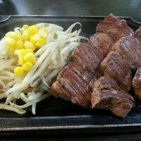 Photo taken at 町のステーキ屋さん 加真呂 錦糸町店 by 相澤健一 on 12/14/2013